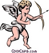 Vector Clipart graphic  of an Angel