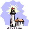Lighthouse Vector Clipart picture