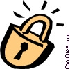 Vector Clipart graphic  of a Locks