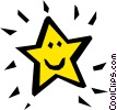 Vector Clipart graphic  of a Star