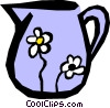 Vector Clip Art picture  of a Watering can