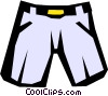 Short pants Vector Clip Art graphic