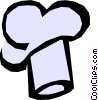 Vector Clipart illustration  of a Chef's hat