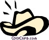Cowboy hats Vector Clip Art graphic