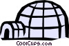 Igloo Vector Clip Art picture