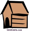 Dog house Vector Clipart picture