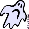 Vector Clipart graphic  of a Ghost