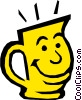 Vector Clipart graphic  of a Mug