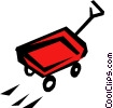 Wagon Vector Clipart illustration
