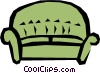 Sofa Vector Clip Art picture