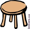 Vector Clip Art graphic  of a Table