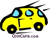 Vector Clipart graphic  of a Car