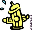 Fire hydrant Vector Clip Art picture