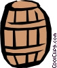 Barrel Vector Clipart illustration
