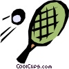 Ping pong rackets Vector Clipart graphic
