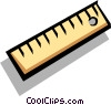 Vector Clipart picture  of a Ruler