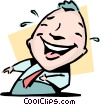 The last laugh Vector Clip Art picture