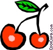 Cherries Vector Clip Art picture