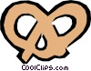 Vector Clip Art graphic  of a Pretzel