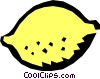 Vector Clipart picture  of a Lemon