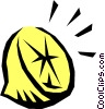 Vector Clipart image  of a Lemon