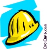 hard hat Vector Clipart picture