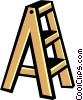 Vector Clip Art picture  of a Stepladder