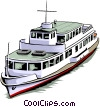 Boat Vector Clipart graphic