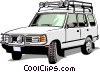 Land Rover Vector Clip Art picture