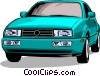 Vector Clipart picture  of an Automobile