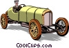 Antique automobile Vector Clipart picture