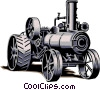 Steam engine Vector Clip Art image