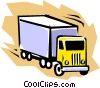 Truck Vector Clip Art graphic