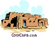Adobe building Vector Clipart picture