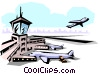Airport Vector Clipart picture
