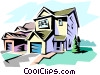 Vector Clip Art picture  of a House