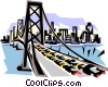 Bridge Vector Clipart illustration