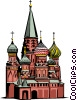 St. Basil's Church Vector Clip Art picture