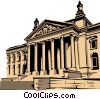Reichstag Vector Clipart illustration