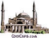 Vector Clipart picture  of a St. Sophia Church
