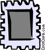Vector Clip Art picture  of a Stamp