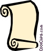 Scroll Vector Clipart picture
