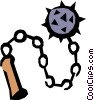 Mace Vector Clip Art picture