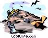 Garbage dump Vector Clip Art graphic
