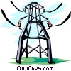 Hydro electricity Vector Clipart picture