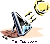 Solar energy Vector Clip Art graphic