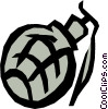 hand grenade Vector Clipart picture