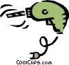 Electric drill Vector Clip Art picture