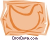 Vector Clipart graphic  of a Chickens