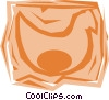 Vector Clipart illustration  of a Chickens